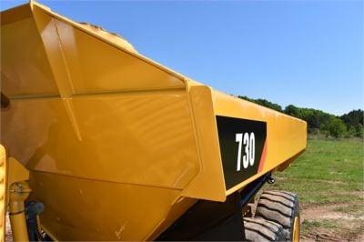 USED 2010 CATERPILLAR 730 OFF HIGHWAY TRUCK EQUIPMENT #2093-31