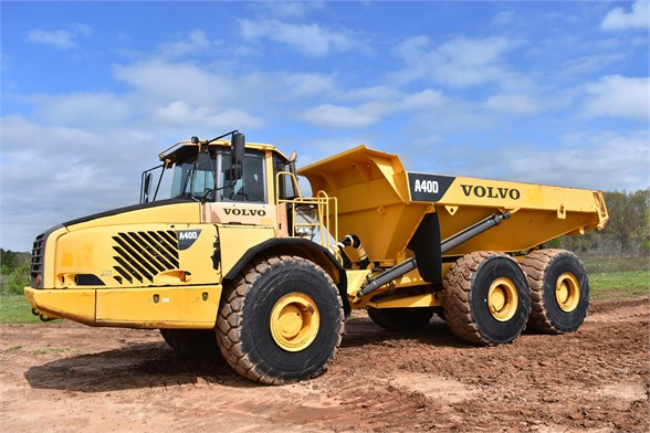USED 2007 VOLVO A40D OFF HIGHWAY TRUCK EQUIPMENT #2102