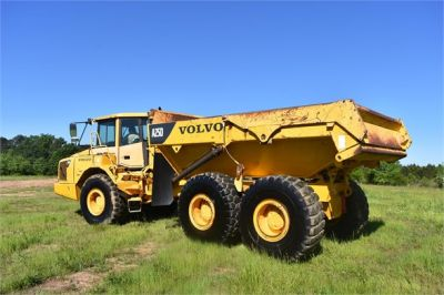 USED 2007 VOLVO A25D OFF HIGHWAY TRUCK EQUIPMENT #2109-10