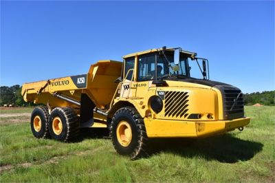 USED 2007 VOLVO A25D OFF HIGHWAY TRUCK EQUIPMENT #2109-13