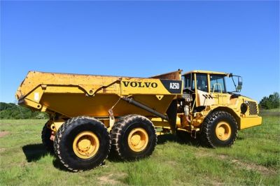 USED 2007 VOLVO A25D OFF HIGHWAY TRUCK EQUIPMENT #2109-16
