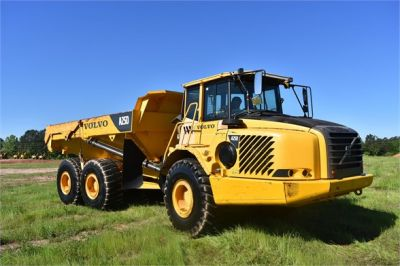 USED 2007 VOLVO A25D OFF HIGHWAY TRUCK EQUIPMENT #2109-17