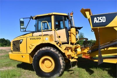 USED 2007 VOLVO A25D OFF HIGHWAY TRUCK EQUIPMENT #2109-20