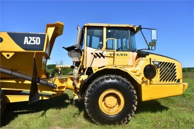 USED 2007 VOLVO A25D OFF HIGHWAY TRUCK EQUIPMENT #2109-21