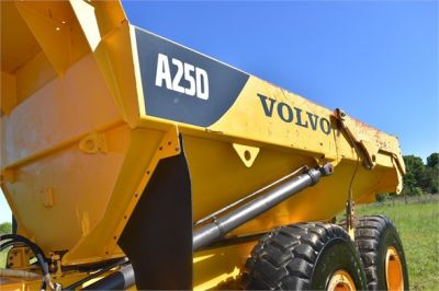 USED 2007 VOLVO A25D OFF HIGHWAY TRUCK EQUIPMENT #2109-23