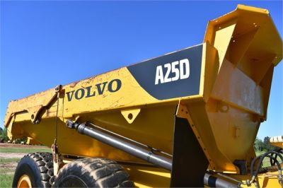 USED 2007 VOLVO A25D OFF HIGHWAY TRUCK EQUIPMENT #2109-24