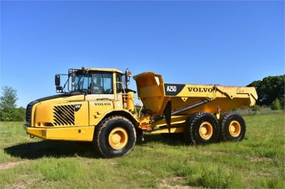 USED 2007 VOLVO A25D OFF HIGHWAY TRUCK EQUIPMENT #2109-6