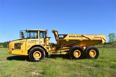 USED 2007 VOLVO A25D OFF HIGHWAY TRUCK EQUIPMENT #2109-7