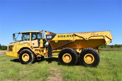 USED 2007 VOLVO A25D OFF HIGHWAY TRUCK EQUIPMENT #2109-8