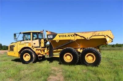 USED 2007 VOLVO A25D OFF HIGHWAY TRUCK EQUIPMENT #2109-9
