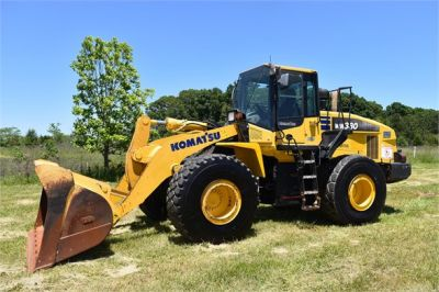 USED 2012 KOMATSU WA380-7 WHEEL LOADER EQUIPMENT #2115-1