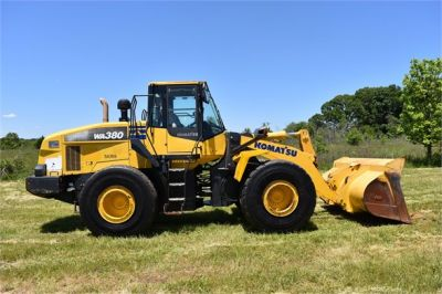 USED 2012 KOMATSU WA380-7 WHEEL LOADER EQUIPMENT #2115-10