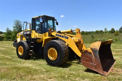USED 2012 KOMATSU WA380-7 WHEEL LOADER EQUIPMENT #2115-11