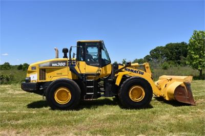 USED 2012 KOMATSU WA380-7 WHEEL LOADER EQUIPMENT #2115-12