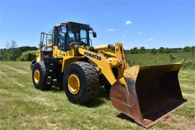 USED 2012 KOMATSU WA380-7 WHEEL LOADER EQUIPMENT #2115-13