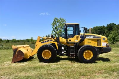 USED 2012 KOMATSU WA380-7 WHEEL LOADER EQUIPMENT #2115-2