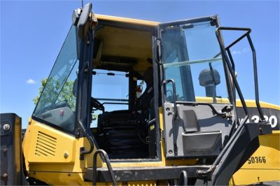 USED 2012 KOMATSU WA380-7 WHEEL LOADER EQUIPMENT #2115-26