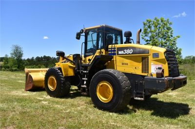 USED 2012 KOMATSU WA380-7 WHEEL LOADER EQUIPMENT #2115-3