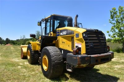 USED 2012 KOMATSU WA380-7 WHEEL LOADER EQUIPMENT #2115-4