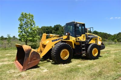USED 2012 KOMATSU WA380-7 WHEEL LOADER EQUIPMENT #2115-5