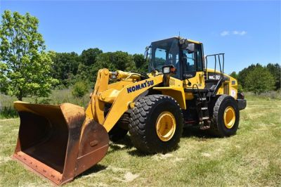 USED 2012 KOMATSU WA380-7 WHEEL LOADER EQUIPMENT #2115-7