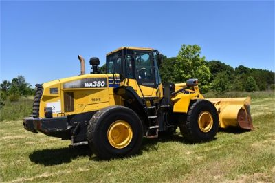 USED 2012 KOMATSU WA380-7 WHEEL LOADER EQUIPMENT #2115-8