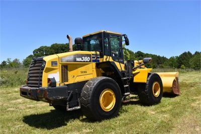 USED 2012 KOMATSU WA380-7 WHEEL LOADER EQUIPMENT #2115-9