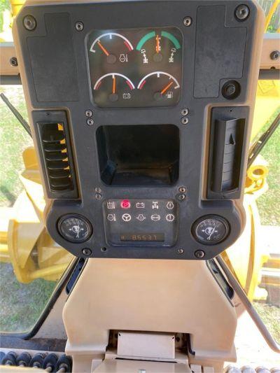 USED 2007 CATERPILLAR 140H MOTOR GRADER EQUIPMENT #2123-17