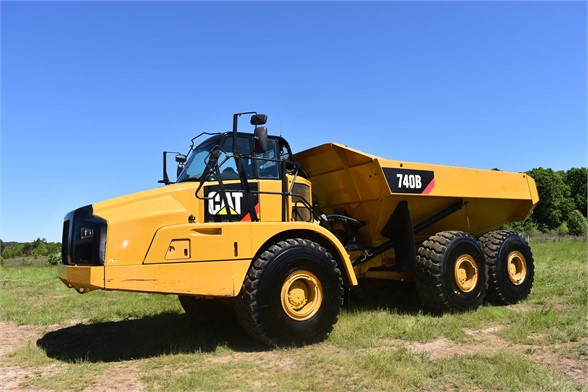USED 2014 CATERPILLAR 740B OFF HIGHWAY TRUCK EQUIPMENT #2130