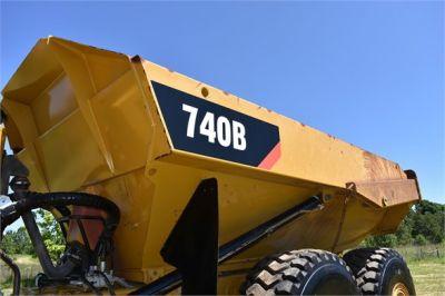 USED 2014 CATERPILLAR 740B OFF HIGHWAY TRUCK EQUIPMENT #2131-23