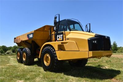 USED 2014 CATERPILLAR 740B OFF HIGHWAY TRUCK EQUIPMENT #2132-13