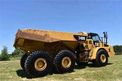 USED 2014 CATERPILLAR 740B OFF HIGHWAY TRUCK EQUIPMENT #2132-15