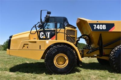 USED 2014 CATERPILLAR 740B OFF HIGHWAY TRUCK EQUIPMENT #2132-17