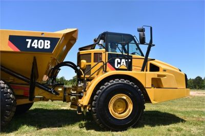 USED 2014 CATERPILLAR 740B OFF HIGHWAY TRUCK EQUIPMENT #2132-18