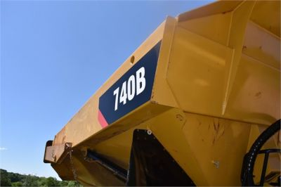 USED 2014 CATERPILLAR 740B OFF HIGHWAY TRUCK EQUIPMENT #2132-27