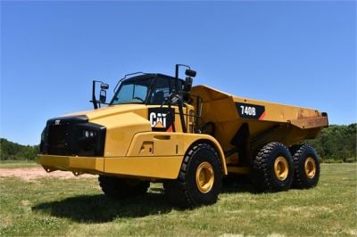 USED 2014 CATERPILLAR 740B OFF HIGHWAY TRUCK EQUIPMENT #2132-3