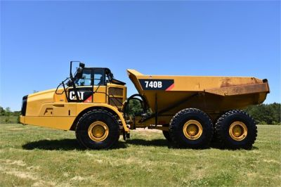 USED 2014 CATERPILLAR 740B OFF HIGHWAY TRUCK EQUIPMENT #2132-5
