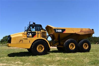 USED 2014 CATERPILLAR 740B OFF HIGHWAY TRUCK EQUIPMENT #2132-6