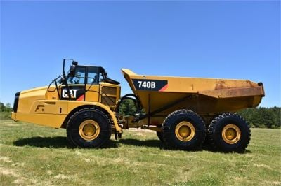 USED 2014 CATERPILLAR 740B OFF HIGHWAY TRUCK EQUIPMENT #2132-7