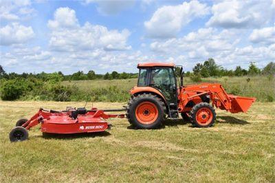 USED 2019 KUBOTA M7060D FARM TRACTOR EQUIPMENT #2133-15