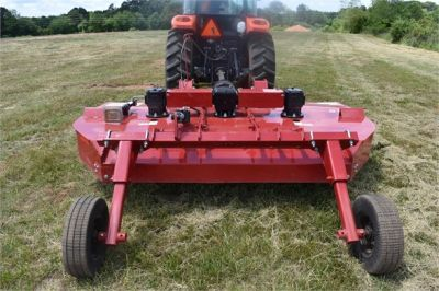 USED 2019 KUBOTA M7060D FARM TRACTOR EQUIPMENT #2133-21