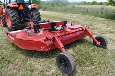 USED 2019 KUBOTA M7060D FARM TRACTOR EQUIPMENT #2133-22