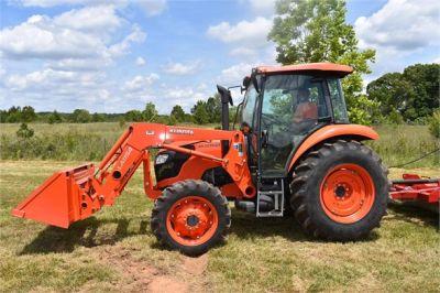USED 2019 KUBOTA M7060D FARM TRACTOR EQUIPMENT #2133-4