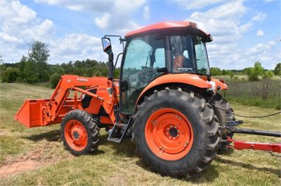 USED 2019 KUBOTA M7060D FARM TRACTOR EQUIPMENT #2133-5