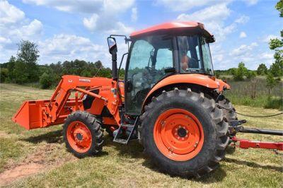 USED 2019 KUBOTA M7060D FARM TRACTOR EQUIPMENT #2133-6