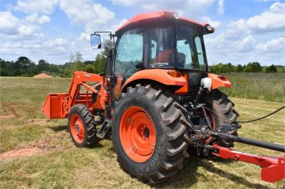 USED 2019 KUBOTA M7060D FARM TRACTOR EQUIPMENT #2133-7