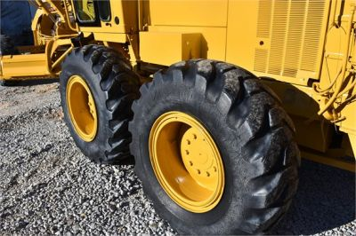 USED 1998 CATERPILLAR 140H MOTOR GRADER EQUIPMENT #2134-15