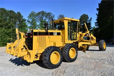 USED 1998 CATERPILLAR 140H MOTOR GRADER EQUIPMENT #2134-2