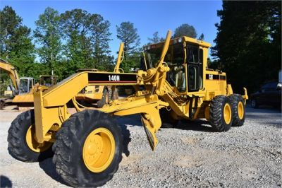 USED 1998 CATERPILLAR 140H MOTOR GRADER EQUIPMENT #2134-5