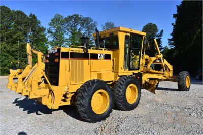 USED 1998 CATERPILLAR 140H MOTOR GRADER EQUIPMENT #2134-9